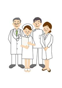 医師と看護師のイラスト素材 [FYI02522969]