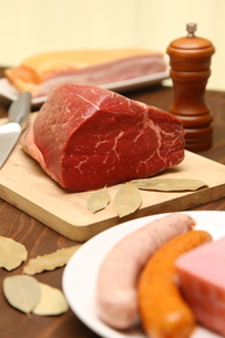 肉類の写真素材 [FYI02525702]