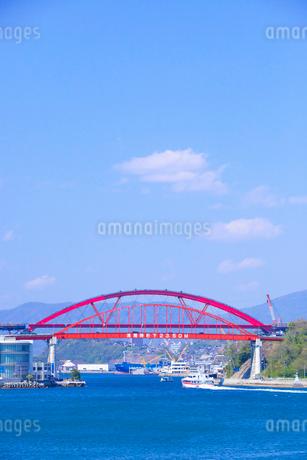 音戸大橋と第2音戸大橋の写真素材 [FYI02525833]