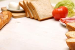 食材(サンドイッチの材料)の写真素材 [FYI02525836]
