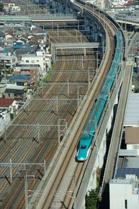 東北新幹線はやぶさの写真素材 [FYI02528795]
