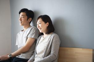 笑っている夫婦の写真素材 [FYI02531092]