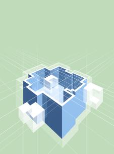 アブストラクト CGのイラスト素材 [FYI02532997]