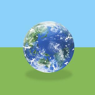 地球イメージのイラスト素材 [FYI02533034]