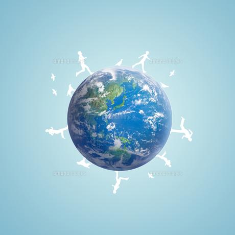 地球イメージのイラスト素材 [FYI02533107]
