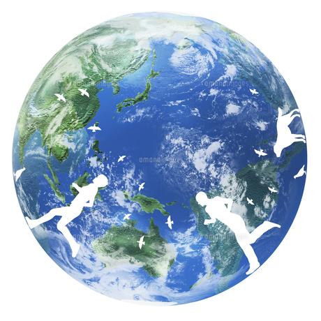 地球イメージのイラスト素材 [FYI02533148]