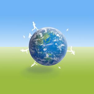 地球イメージのイラスト素材 [FYI02533187]