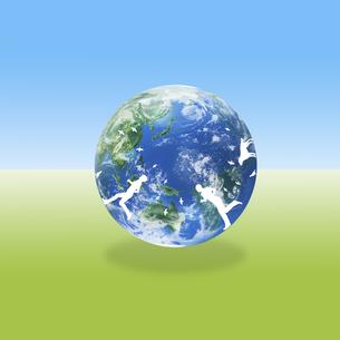 地球イメージのイラスト素材 [FYI02533228]