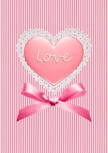 ハートのバレンタインチョコの写真素材 [FYI02535049]