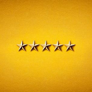 5つ星の写真素材 [FYI02535187]