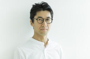 日本人男性のポートレートの写真素材 [FYI02539044]