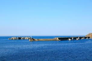 夏の小袖漁港 あまちゃんロケ地の写真素材 [FYI02540238]