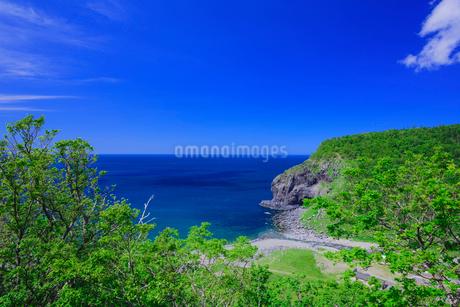 知床半島と岩尾別川の写真素材 [FYI02540885]