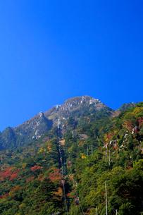 三重県 御在所岳の紅葉の写真素材 [FYI02540899]