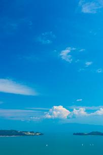 恋人の聖地牛窓の写真素材 [FYI02541453]