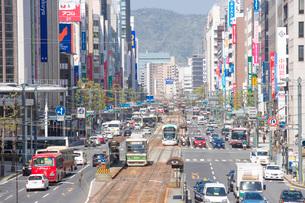 広島市の胡町より相生通りの写真素材 [FYI02542471]