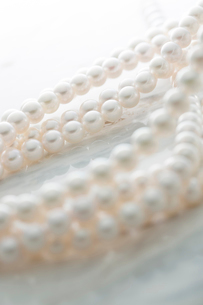 真珠のネックレスの写真素材 [FYI02542560]