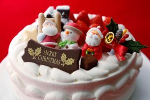 クリスマスケーキの写真素材 [FYI02544781]