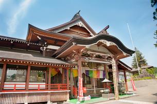 湯殿山 大日坊瀧水寺の写真素材 [FYI02545811]