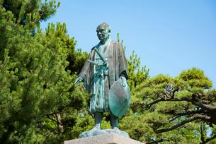 河村瑞賢翁像の写真素材 [FYI02546164]