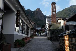 3月春 鍋島焼の里 大川内山の写真素材 [FYI02555940]