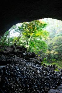 天安河原の秋の写真素材 [FYI02557150]