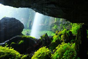 阿弥陀ヶ滝の写真素材 [FYI02557447]