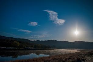 青空 空 雲 太陽の写真素材 [FYI02558421]