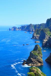 北山崎断崖の写真素材 [FYI02560124]