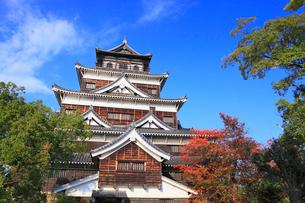 広島城の天守閣の写真素材 [FYI02560267]