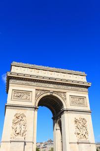 エトワール凱旋門の写真素材 [FYI02560371]