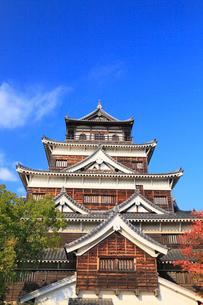 広島城の天守閣の写真素材 [FYI02560513]