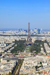 モンパルナス・タワーより望むパリ市街の写真素材 [FYI02560780]