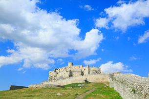 スピシュスケー・ポドフラディエのスピシュ城の写真素材 [FYI02560904]
