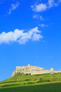 スピシュスケー・ポドフラディエのスピシュ城の写真素材 [FYI02562024]
