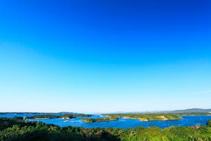伊勢志摩・登茂山公園桐垣展望台より英虞湾の島々を望むの写真素材 [FYI02563099]