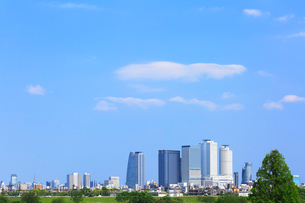 名古屋駅周辺の高層ビルと街並みの写真素材 [FYI02563317]