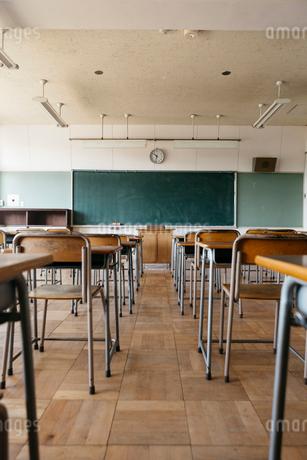 教室の写真素材 [FYI02568824]
