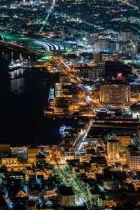函館の夜景の写真素材 [FYI02570297]