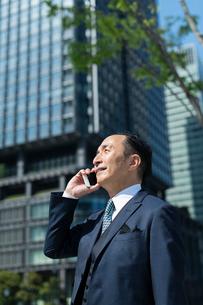 シニアのビジネスマンの写真素材 [FYI02570822]