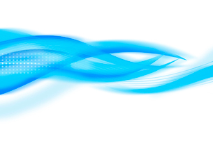 重なり合う曲線のイメージ CGの写真素材 [FYI02596258]
