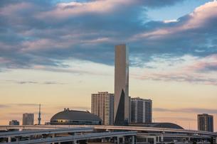 江東区有明周辺のビル群と東京スカイツリーの写真素材 [FYI02596704]