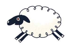 羊 イラストのイラスト素材 [FYI02597264]