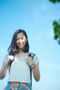 笑顔の女性の写真素材 [FYI02597439]