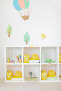 無人の幼稚園の教室の写真素材 [FYI02608146]