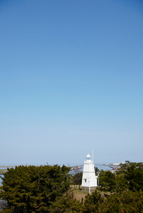 日和山公園の木造六角灯台 山形県の写真素材 [FYI02616712]