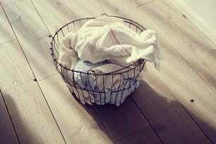 洗濯かごの写真素材 [FYI02620100]