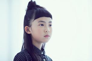 女の子のポートレートの写真素材 [FYI02620660]