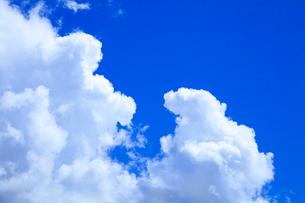 入道雲と青空の写真素材 [FYI02622457]