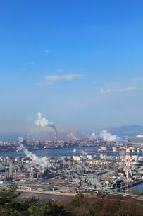 水島臨海工業地帯の写真素材 [FYI02625627]